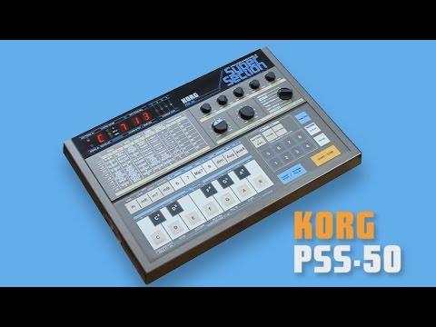 "KORG PSS-50 Vintage Groove Box ""SUPER SECTION"" 1984 | HD DEMO"