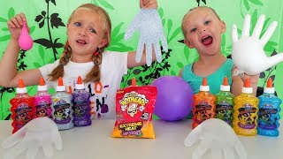 Find Your Slime Ingredients Challenge! Trying Extreme Heat WarHeads!! thumbnail