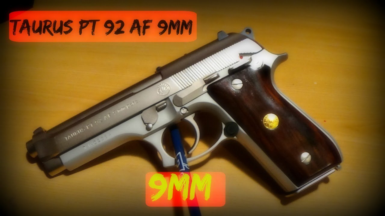 Taurus PT 92 AF 9mm - YouTube