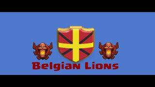 Clash of Clans-High lvl gameplay- #4 - BELGIAN LIONS