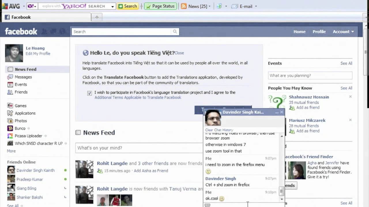 facebook chat chat gratis