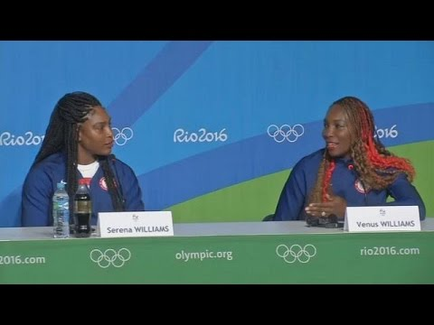 Tennis sensations Venus and Serena Williams ready for Olympics