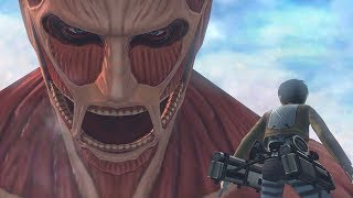 Repeat youtube video Attack on Titan The Game: 3DS Gameplay Trailer #2, The Last Wings of Humanity (HD)