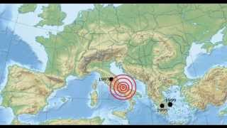 The most consequential earthquakes in Europe for the last 20 years