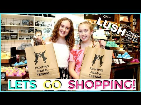 LUSH SHOPPING SPREE! Come Shop With Us 2018!