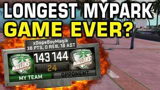 Longest NBA 2K16 myPark Game