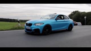 BMW M235I   CarPorn-Movie   BlueDevil   Vossen   TwinTurbo