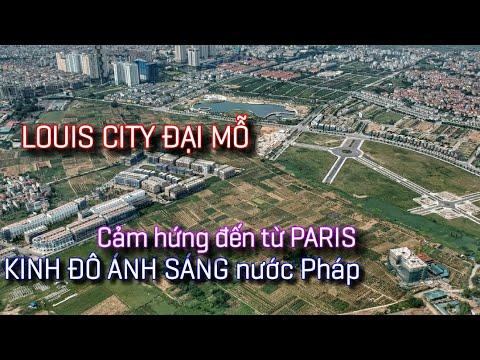 Dự án Louis City Đại Mỗ | Cảm hứng KINH ĐÔ ÁNH SÁNG Paris đến từ nước Pháp