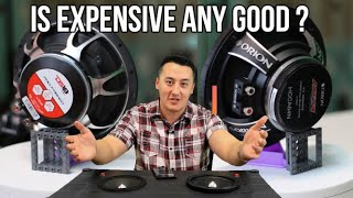Orion HCCA64N VS DS18 PRO-FR6NEO best car audio 6.5 mid bass midrange speakers