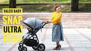 Valco baby snap ULTRA trend - idealny wózek 2w1