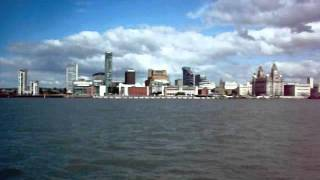 Liverpool from the Mersey Ferry