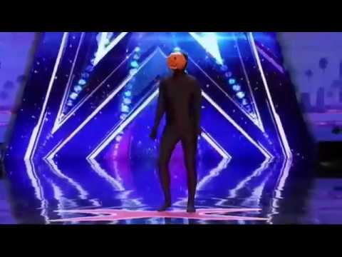 Dancing Pumpkin Man (Spooky Scary Skeletons) in America got Talent