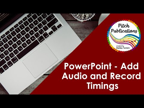 Screencast Powerpoint Add Audio and Record Timings
