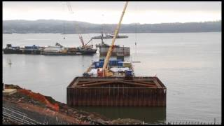 Queensferry Crossing - South/North Launch Areas and Foundations