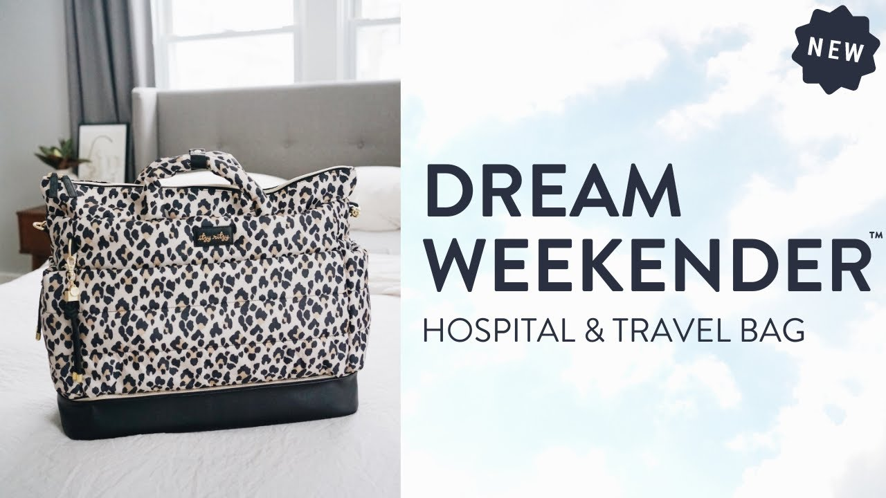 Dream Weekender™ Hospital & Travel Bag: New Itzy Ritzy Diaper Bag Collection!