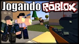 Playing Roblox-The new Apocalypse Rising 2 Alpha!!