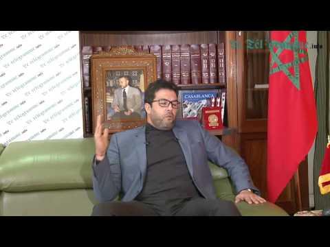 Karim Achengli Le président de la chambre de commerce, d'industrie et de services d'Agadir