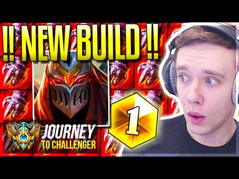 I FOUND THE NEW OP ZED BUILD FREELO - Journey To Challenger  League of Legends