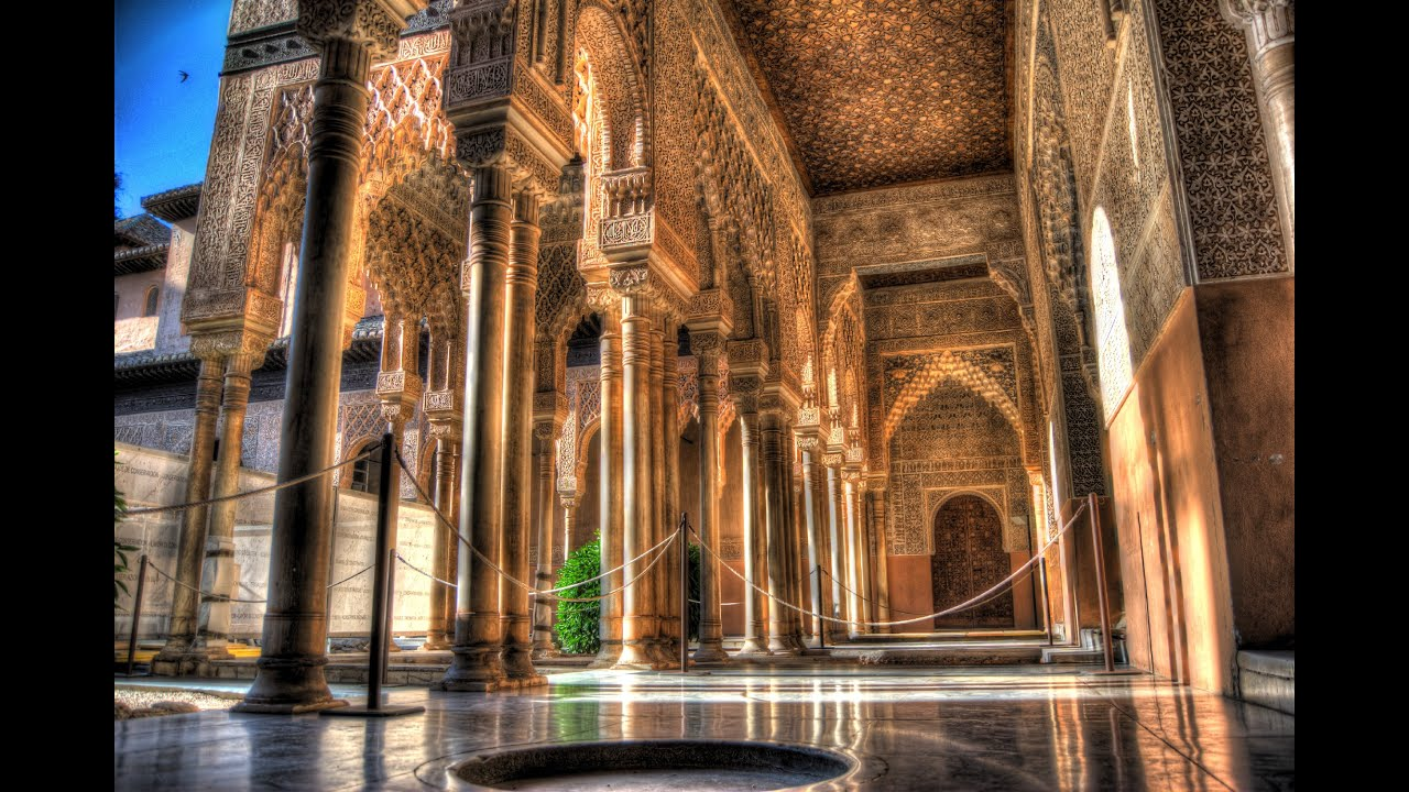 El Hamra Sarayı Granada - ispanya (Endülüs)