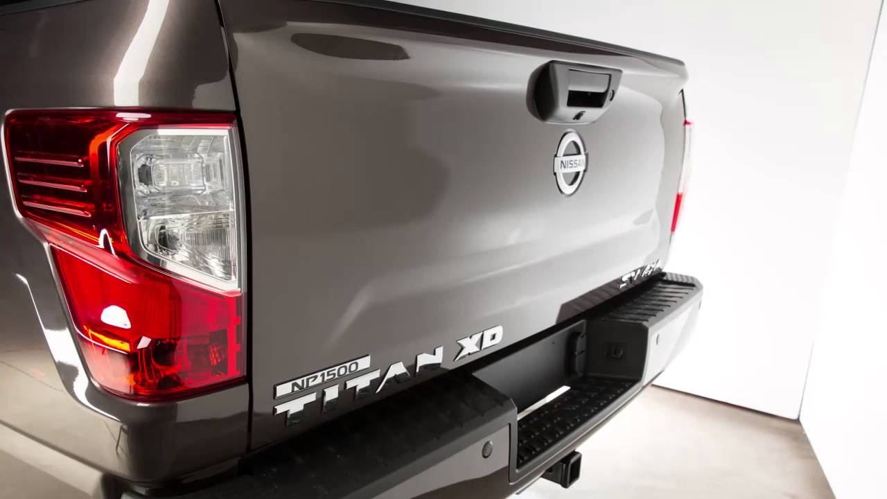 Nissan Diesel Truck >> 2016 NISSAN TITAN Diesel - Tailgate - YouTube