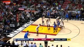 Westbrook 15th Triple Double vs Heat Dec 27, 2016