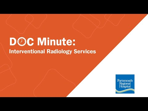 Interventional Radiology Services at Portsmouth Regional