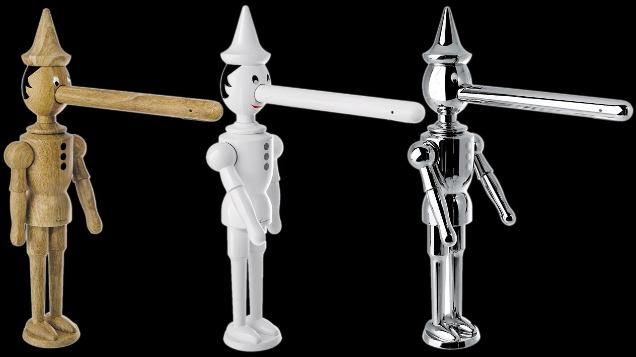 Unboxing of the Pinocchio Faucet by Emmevi - YouTube
