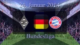Borussia Mönchengladbach v FC Bayern München, 24 Januar 2014, Bundesliga