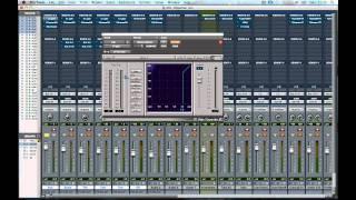 Mixing Tutorials - Drums in Pro Tools 9 part 1/2