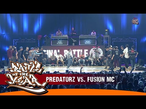 INTERNATIONAL BOTY 2014 - FINAL - PREDATORZ (RUSSIA) VS FUSION MC (KOREA) ...