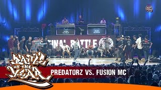 INTERNATIONAL BOTY 2014 - FINAL - PREDATORZ (RUSSIA) VS FUSION MC (KOREA) [BOTY TV]
