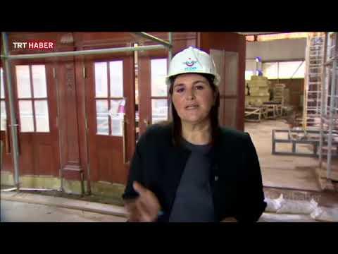 Restorasyonu devam eden Haydarpaşa Garı'ndan ilk görüntüler