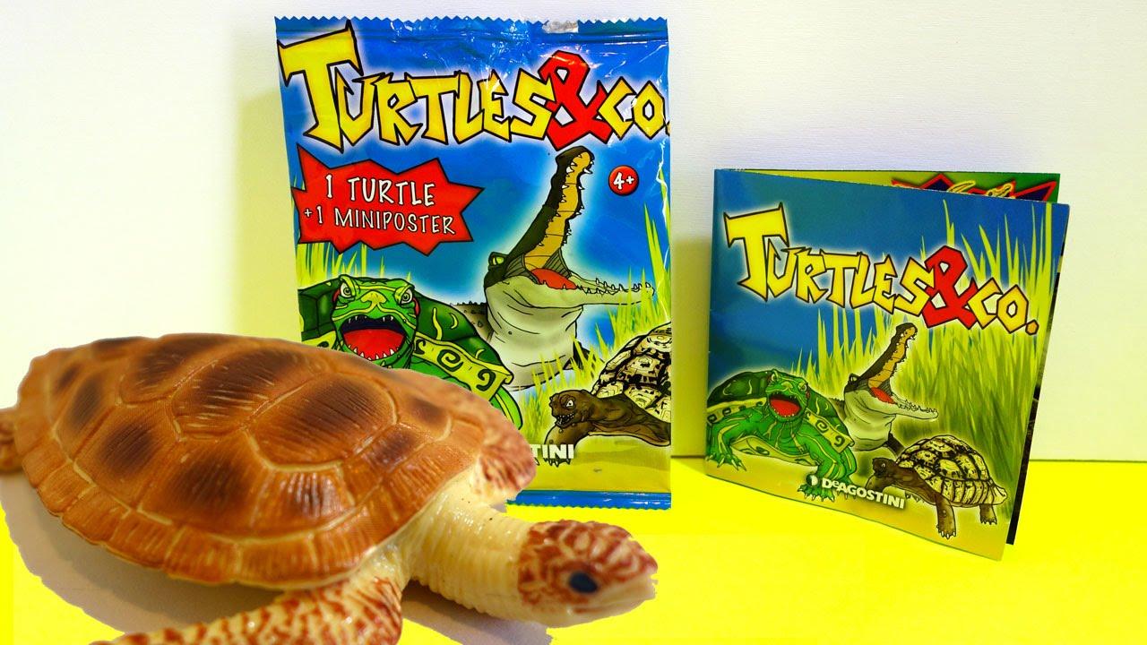 Toys And Co : Turtles co vs koccodrilli maxxi edition de agostini