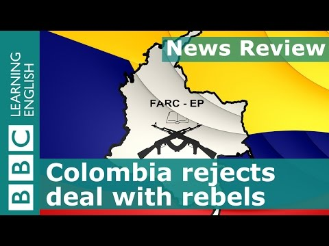 BBC News Review: Colombia rejects deal to end conflict with rebels