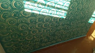Wall painting Royale play design - Asian paints