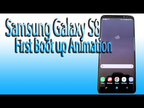Samsung Galaxy S8 First Boot Up & Animation