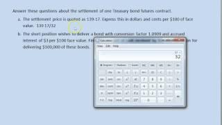 Treasury Bond Futures Contract