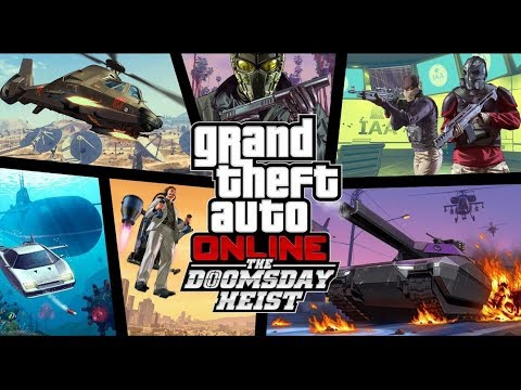 GTA ONLINE The Doomsday Heist -  Frischer WIND im GTA V MULTIPLAYER!