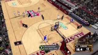 NBA 2K13 All Star Weekend Three Point Contest (NBA 2K13 Gameplay)