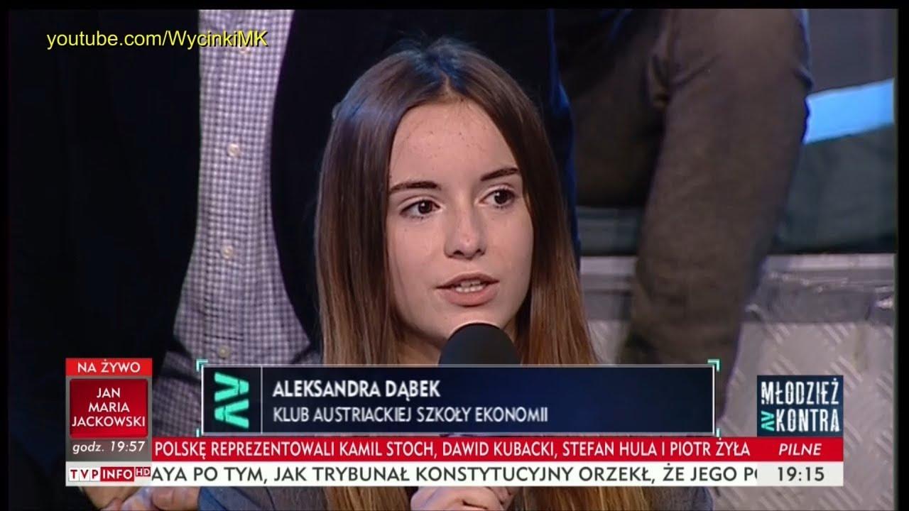 Młodzież kontra 633: Aleksandra Dąbek (KASE) vs Eugeniusz Kłopotek (PSL) 17.03.2018
