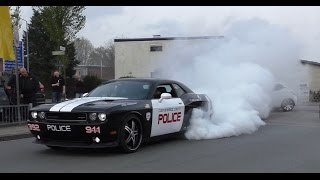 Crazy US Cars - Burnouts, Donuts and brutal Sounds!