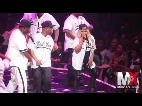 "Lil' Kim Performs ""Get Money"" at Bad Boy Family Reunion show in Brooklyn"