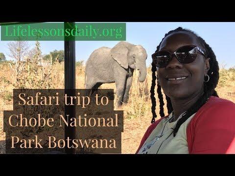 One Day Safari Trip  to Chobe National Park in Botswana