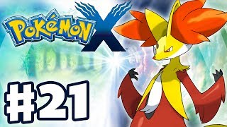 Pokemon X and Y - Gameplay Walkthrough Part 21 - Delphox! (Nintendo 3DS)