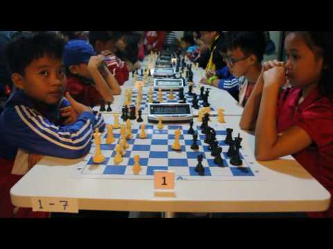 Round 3 Pinoy Youth Chess Club 14 Year Old and Under Kiddies Rapid Chess Tournament January 29 2017