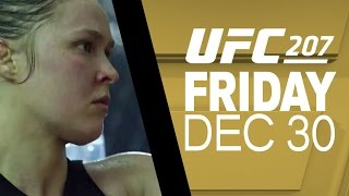 UFC 207: Ronda Rousey - Hope that Can't Be Crushed