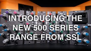 New 500 Series range from SSL featuring SiX CH and UV EQ