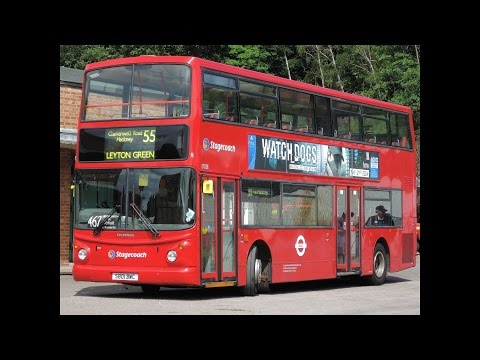 (28/6/2015) London's first Trident in Brooklands - ex-Stagecoach #17001 (TA1) S801BWC on Route 462