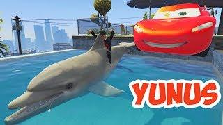 Örümcek Çocuk Yunus Balığıyla Oyun Oynuyor (GTA 5 Komik Anlar)