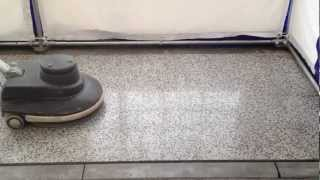 Vyčistím CZ - Strojové leštění teraco podlahy  metodou Viper™